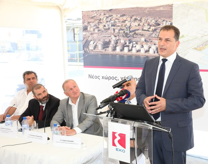 Ο Υπουργός Ενέργειας, Εμπορίου, Βιομηχανίας και Τουρισμού της Κύπρου Γιώργος Λακκοτρύπης