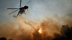 """Οι φλόγες """"έγλειψαν"""" σπίτια στις Βασιλειές Ηρακλείου"""