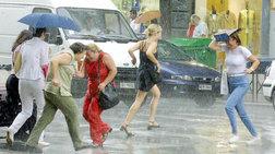 Εκτακτο δελτίο επιδείνωσης καιρού-Ερχονται καταιγίδες και χαλάζι