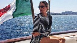 Η διάσημη fashionista Ολίβια Παλέρμο κάνει διακοπές στην Ελλάδα [Εικόνες]