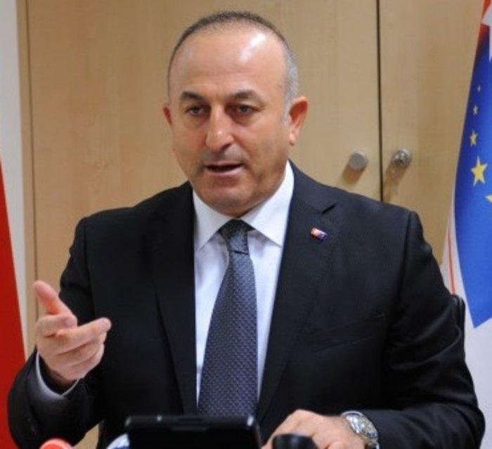 o Μεβλούτ Τσαβούσογλου, υπουργός Εξωτερικών της Τουρκίας