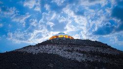 Αυτό το σπίτι βρίσκεται στην κορυφή ενός ηφαιστείου