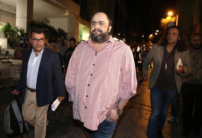 Ο επιχειρηματίας και πρόεδρος του Ολυμπιακού Βαγγέλης Μαρινάκης