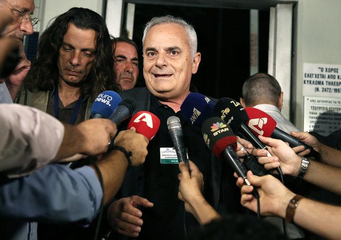 Ο εκπρόσωπος του ΣΚΑΪ Κώστας Κιμπουρόπουλος