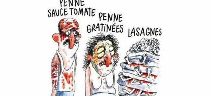 Οργή με σκίτσο για τα θύματα του σεισμού στην Ιταλία