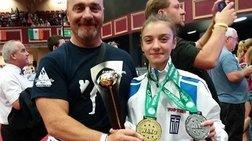 Σεμέλη Ζαρμακούπη: 14χρονη ελληνίδα πρωταθλήτρια κόσμου στο  kick boxing
