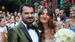 Ο γάμος του Παπαμιμίκου με την ανιψιά του Ιβάν Σαββίδη [φωτο]