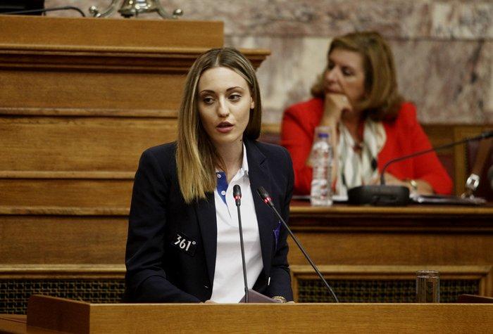 Οι Ολυμπιονίκες στα έδρανα της Βουλής- ΕΙΚΟΝΕΣ - εικόνα 5