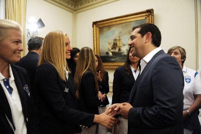 Στο Μαξίμου οι Ολυμπιονίκες- Οι διάλογοι με Τσίπρα - εικόνα 2