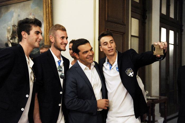 Στο Μαξίμου οι Ολυμπιονίκες- Οι διάλογοι με Τσίπρα