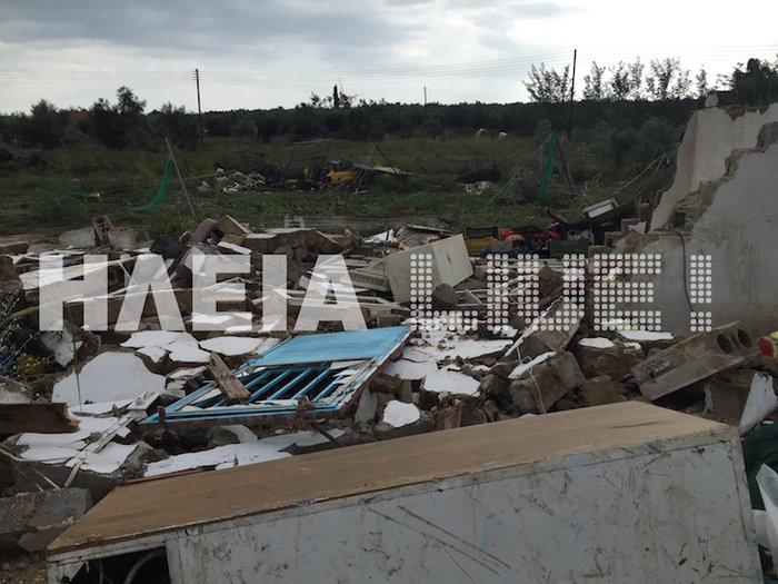 Τυφώνας σάρωσε την Ηλεία- ΦΩΤΟ και VIDEO - εικόνα 4