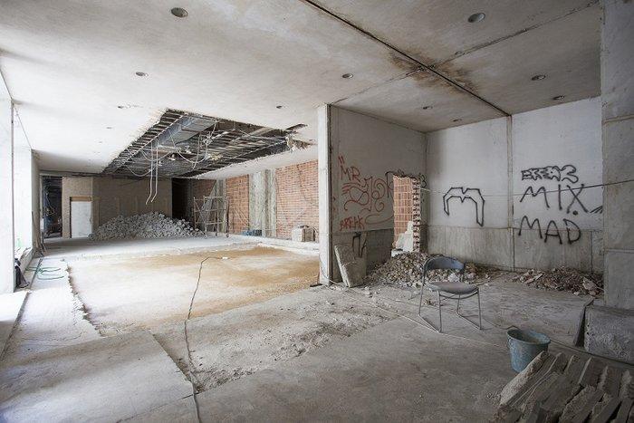 Ο χώρος πριν την ανακαίνιση