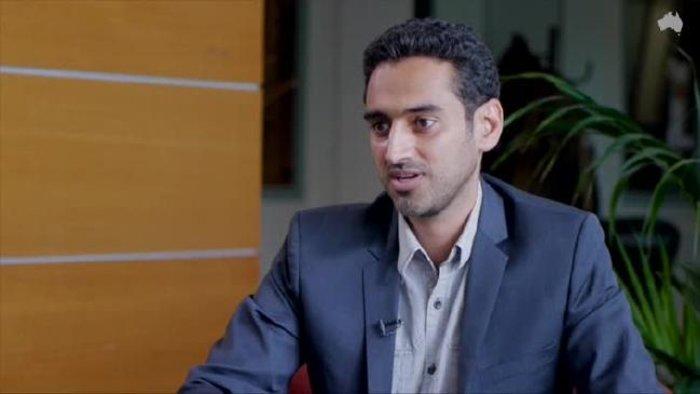Ο αντικαταστάτης της Αμάλ και παρουσιαστής Waleed Aly