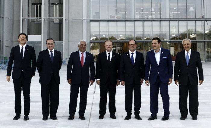 Στο Κέντρο Πολιτισμού Στ. Νιάρχος οι ηγέτες του Νότου δείτε φωτό - εικόνα 3