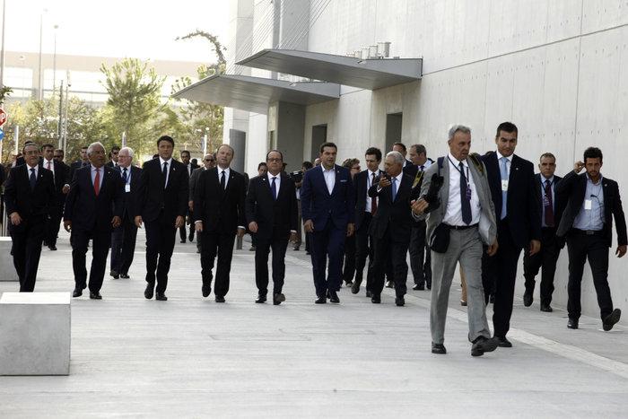 Στο Κέντρο Πολιτισμού Στ. Νιάρχος οι ηγέτες του Νότου δείτε φωτό - εικόνα 7
