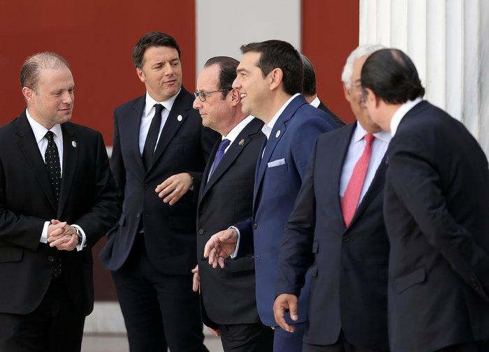 Οι ηγέτες των 7 χωρών που συμμετείχαν στη Σύνοδο του Νότου