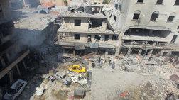 Τουλάχιστον 25 νεκροί από βομβαρδισμούς στη Συρία