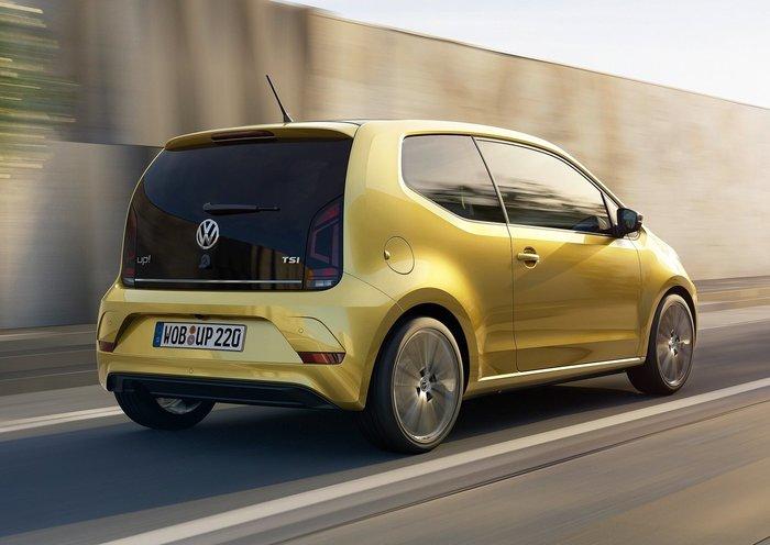Νέο VW up!: Πιο όμορφο, πιο μεγάλο, πιο οικονομικό - εικόνα 2