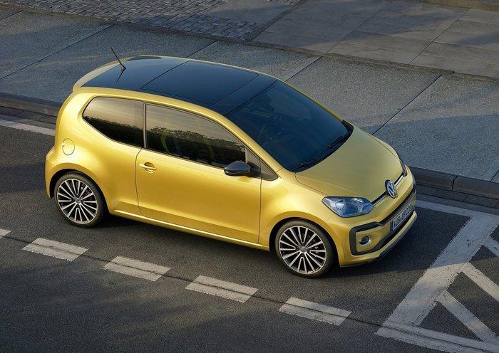 Νέο VW up!: Πιο όμορφο, πιο μεγάλο, πιο οικονομικό - εικόνα 3