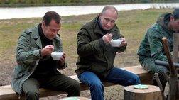 Ο Πούτιν πήρε τον Μεντβέντεφ και πήγαν για ψάρεμα
