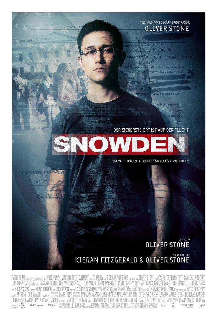 Αφίσα της ταινίας του Όλιβερ Στόουν για τον Έντουαρντ Σνόουντεν