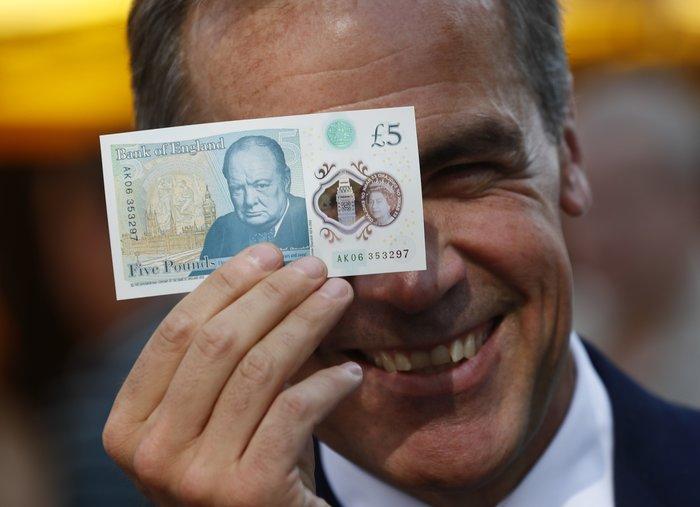 Αυτά είναι τα νέα πλαστικά χαρτονομίσματα της Βρετανίας - εικόνα 2