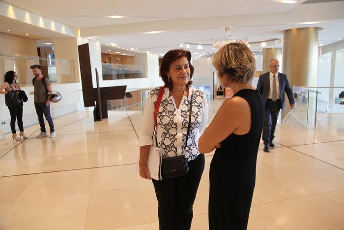 Η κ. Φωτίου στο Hilton για το ελάχιστο εγγυημένο εισόδημα