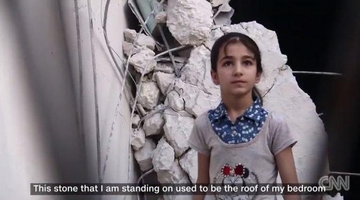To σπαρακτικό βίντεο της 10χρονης Ντόχα από το Χαλέπι - εικόνα 5