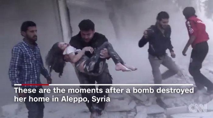 To σπαρακτικό βίντεο της 10χρονης Ντόχα από το Χαλέπι