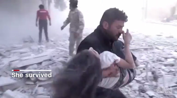 To σπαρακτικό βίντεο της 10χρονης Ντόχα από το Χαλέπι - εικόνα 2