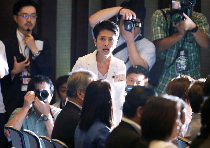 Ρένχο Μουράτα: Ενα πρώην μοντέλο στο τιμόνι της ιαπωνικής αντιπολίτευσης