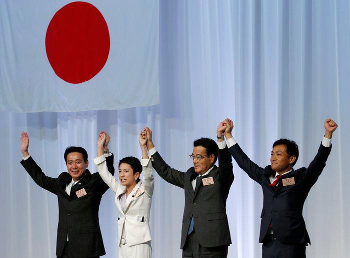 Ρένχο Μουράτα: Ενα πρώην μοντέλο στο τιμόνι της ιαπωνικής αντιπολίτευσης - εικόνα 7