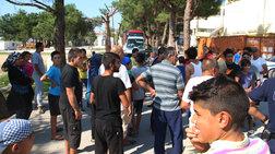 """Σε """"ομηρία"""" μέλη του ΕΛΚ από πρόσφυγες στα Διαβατά"""