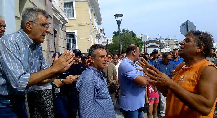 Λέσβος: Aγριες συμπλοκές στο hotspot της Μόριας - εικόνα 6