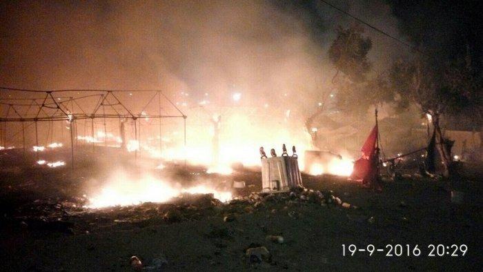 Λέσβος: Aγριες συμπλοκές στο hotspot της Μόριας - εικόνα 3