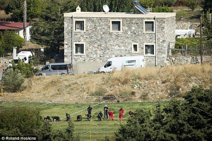 το σπίτι όπου έμενε η οικογένεια όταν εξαφανίστηκε ο Μπεν