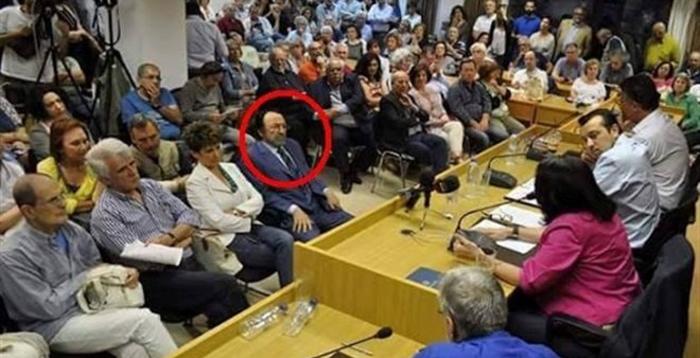 O Χρ.Καλογρίτσας παρών σε κομματική εκδήλωση του ΣΥΡΙΖΑ για τη διαπλοκή