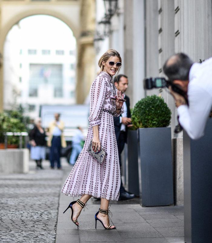Ολίβια Παλέρμο: Η απόλυτη fashionista μάγεψε στους δρόμους του Μιλάνου