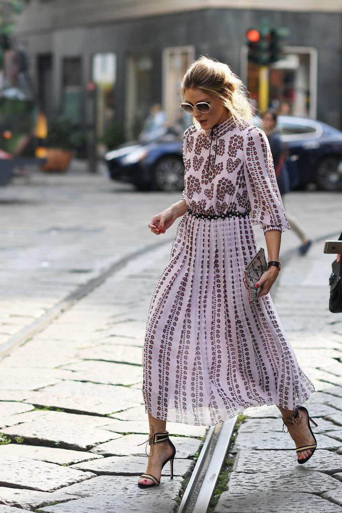 Ολίβια Παλέρμο: Η απόλυτη fashionista μάγεψε στους δρόμους του Μιλάνου - εικόνα 3