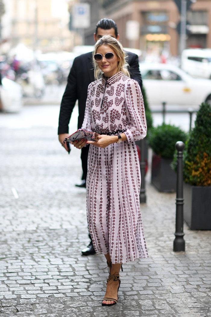 Ολίβια Παλέρμο: Η απόλυτη fashionista μάγεψε στους δρόμους του Μιλάνου - εικόνα 4