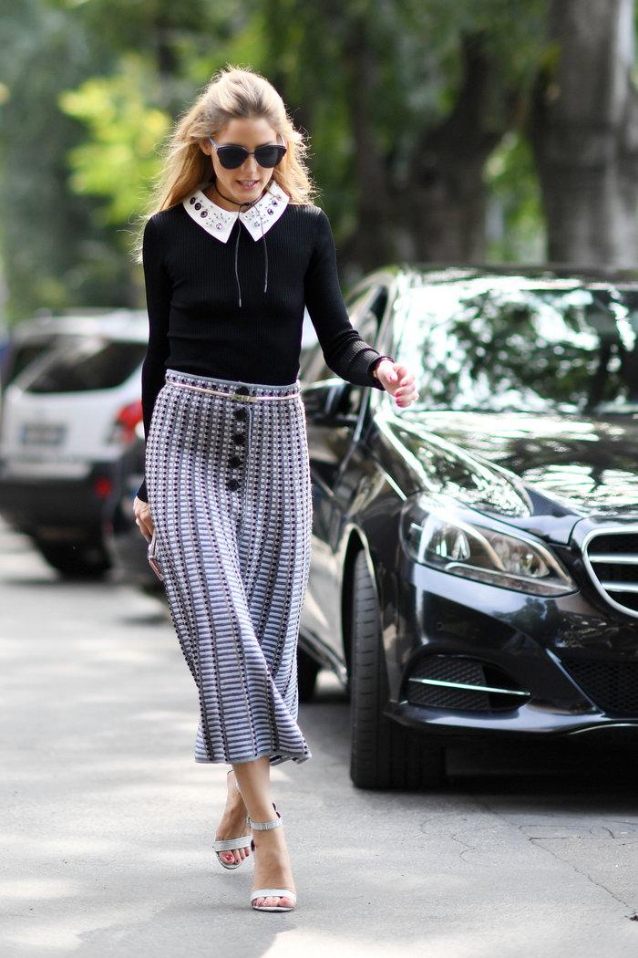 Ολίβια Παλέρμο: Η απόλυτη fashionista μάγεψε στους δρόμους του Μιλάνου - εικόνα 5