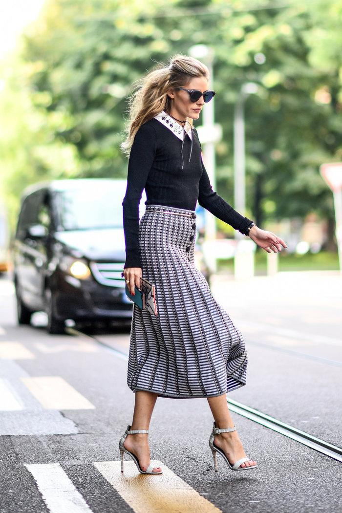 Ολίβια Παλέρμο: Η απόλυτη fashionista μάγεψε στους δρόμους του Μιλάνου - εικόνα 6