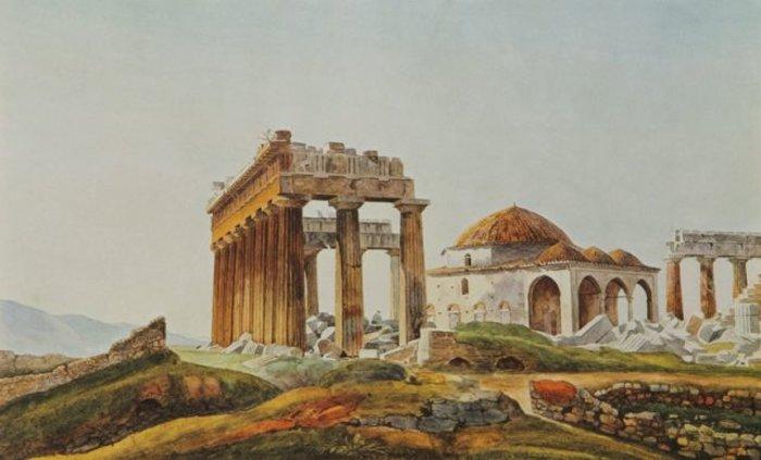 Η βόμβα του Μοροζίνι καταστρέφει τον Παρθενώνα το 1687 - εικόνα 4