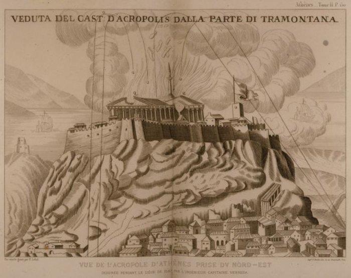 Η βόμβα του Μοροζίνι καταστρέφει τον Παρθενώνα το 1687 - εικόνα 6