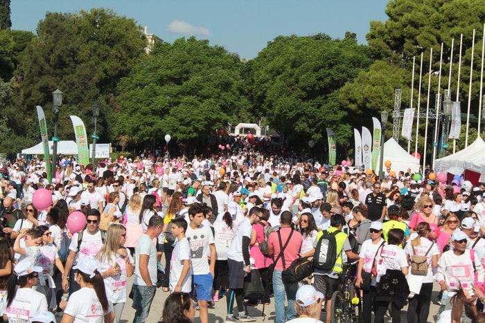 Oι Αθηναίοι έτρεξαν για τον καρκίνο του μαστού [Εικόνες] - εικόνα 4