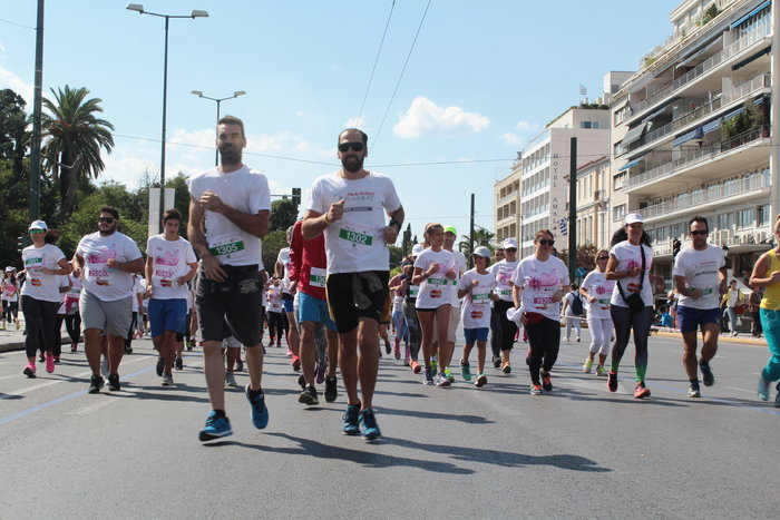 Oι Αθηναίοι έτρεξαν για τον καρκίνο του μαστού [Εικόνες] - εικόνα 6