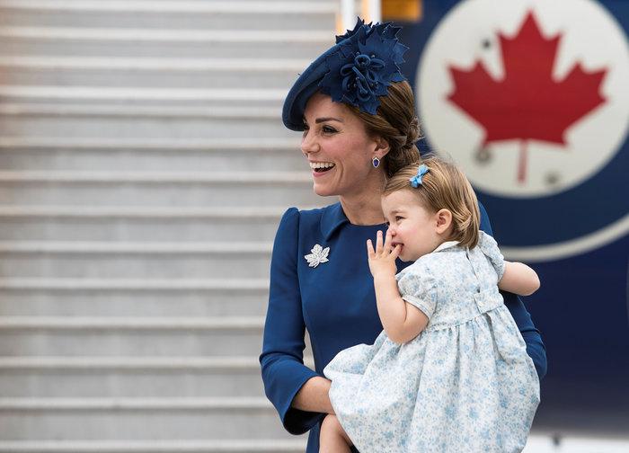 Η Κέιτ ντύθηκε «καναδική σημαία» και πάλι ήταν κούκλα [Εικόνες]