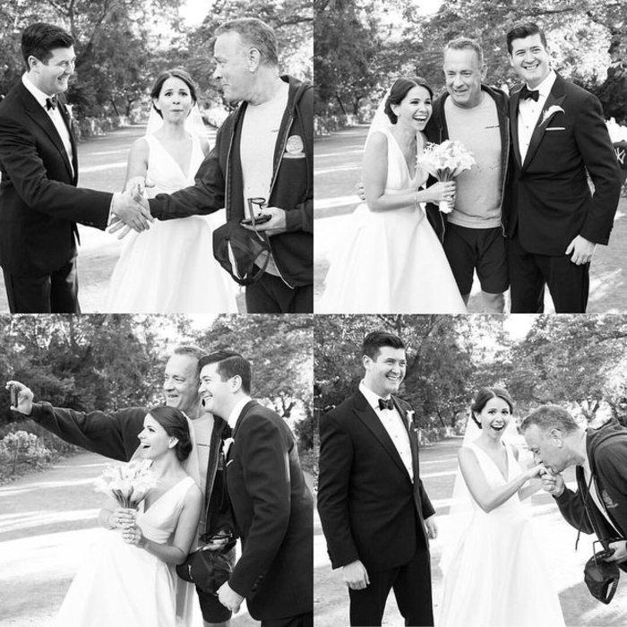 Ο Τομ Χανκς «χάλασε» τη γαμήλια φωτογράφηση ζευγαριού και ήταν τέλειο!