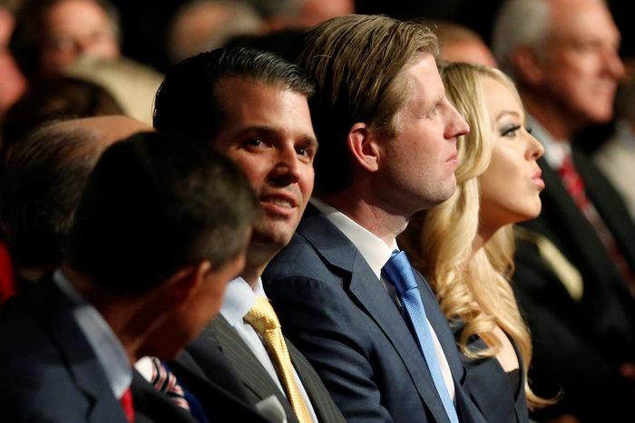 Οικογένεια Τραμπ vs οικογένειας Κλίντον: Ποια κέρδισε τη μάχη της εξέδρας; - εικόνα 4