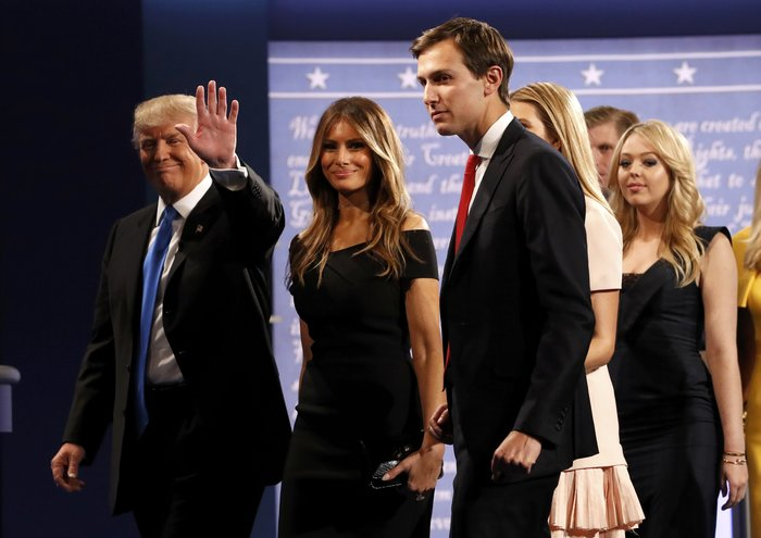 Οικογένεια Τραμπ vs οικογένειας Κλίντον: Ποια κέρδισε τη μάχη της εξέδρας; - εικόνα 7